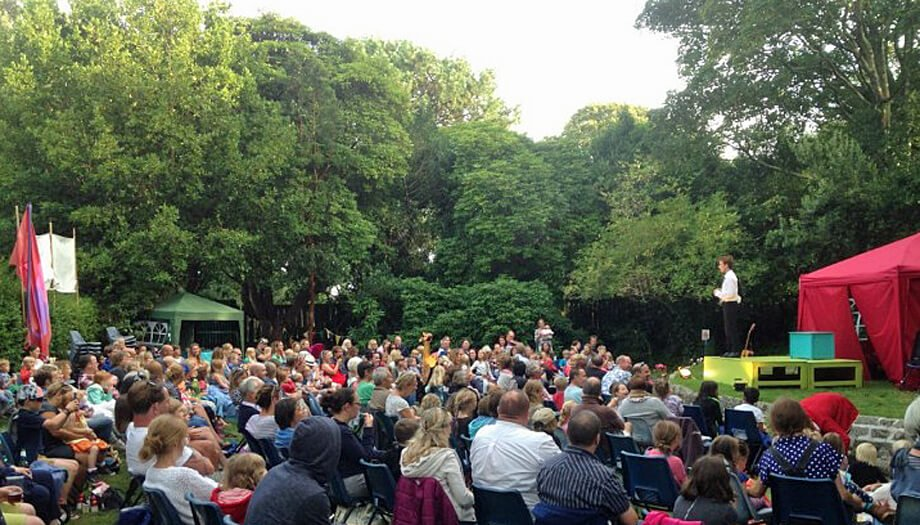 Penlee Park, Open air theatre in Cornwall