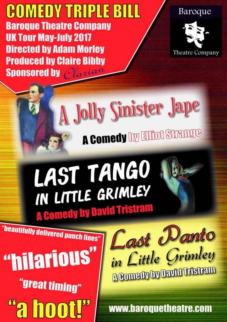 Baroque Theatre Comedy Triple Bill!
