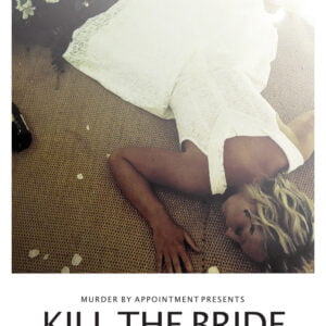 Bride laid out on floor
