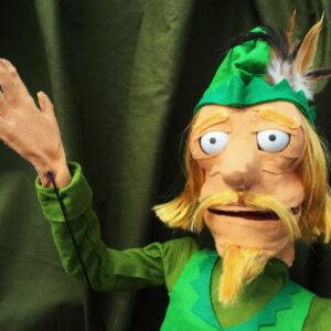 Puppet of Robin Hood